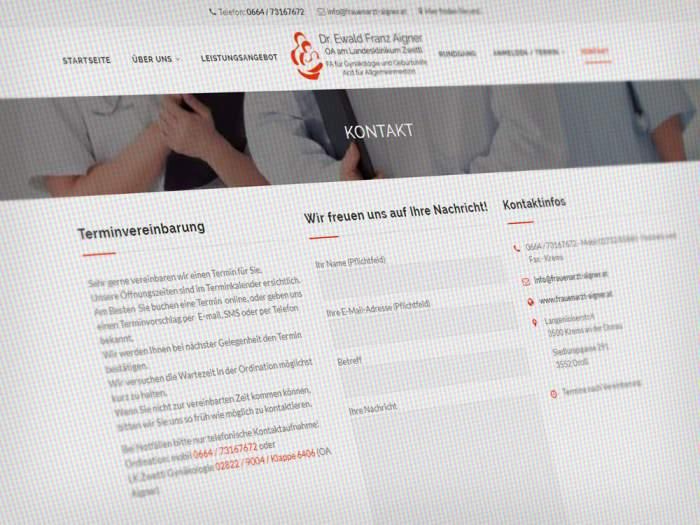 Webdesign Ärzte