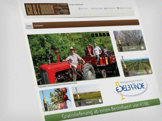 Webdesign Onlineshop Edelbrände