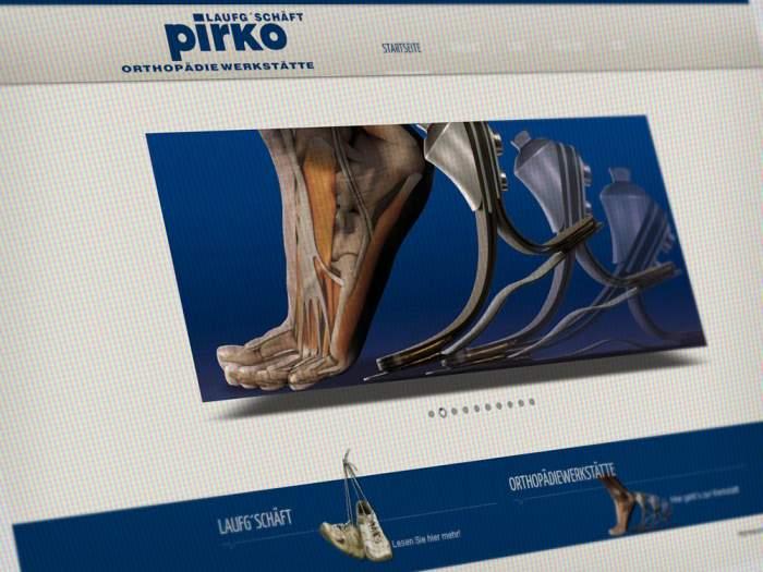 Webdesign Orthopädie