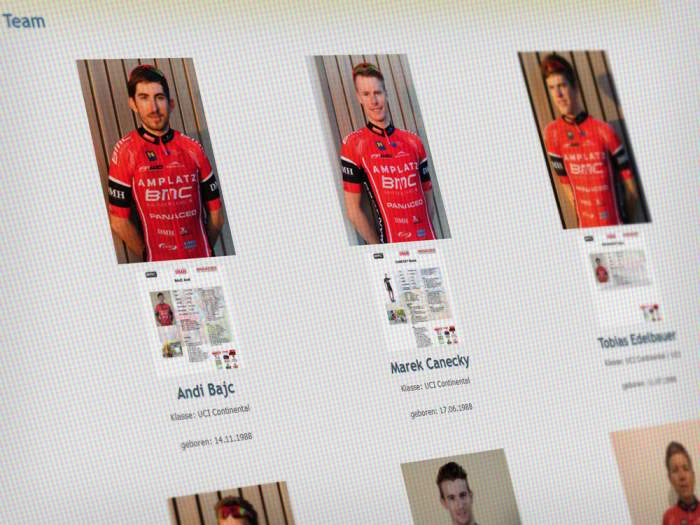 Webdesign Radsport