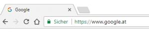 SSL-Zertifikat Beispiel