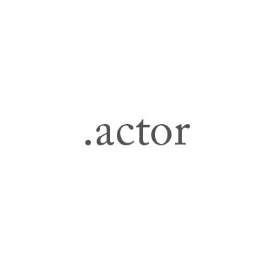 Top-Level-Domain .actor