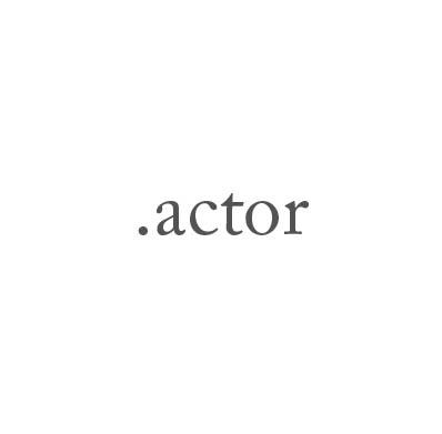 Top-Level-Domain .actor