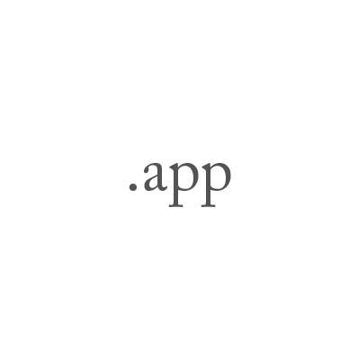 Top-Level-Domain .app