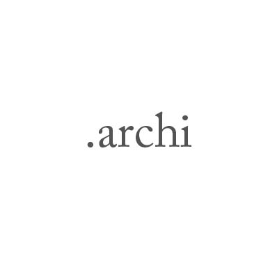 Top-Level-Domain .archi