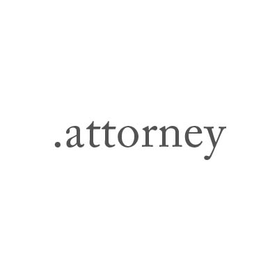 Top-Level-Domain .attorney