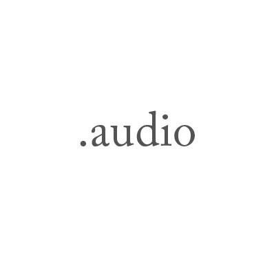 Top-Level-Domain .audio