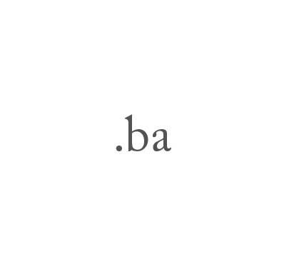 Top-Level-Domain .ba