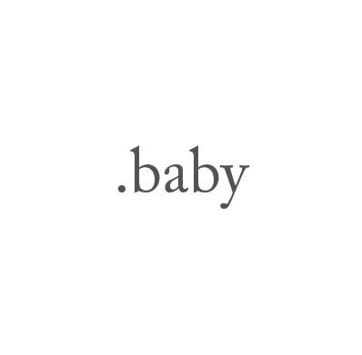 Top-Level-Domain .baby