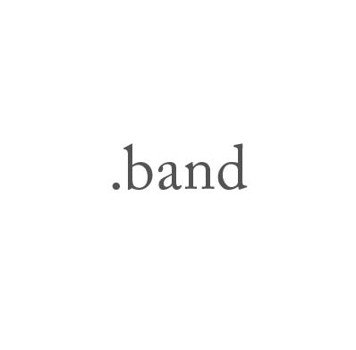 Top-Level-Domain .band