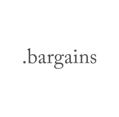 Top-Level-Domain .bargains