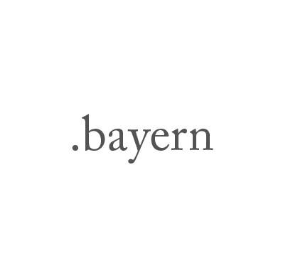 Top-Level-Domain .bayern