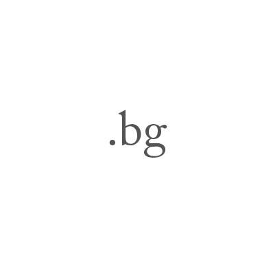 Top-Level-Domain .bg