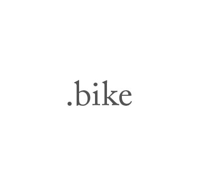 Top-Level-Domain .bike