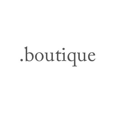 Top-Level-Domain .boutique