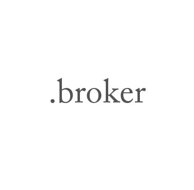 Top-Level-Domain .broker