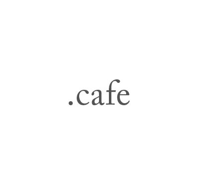 Top-Level-Domain .cafe