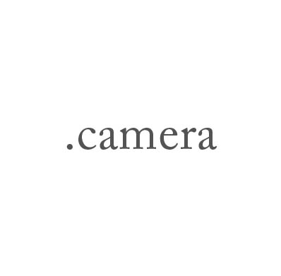 Top-Level-Domain .camera