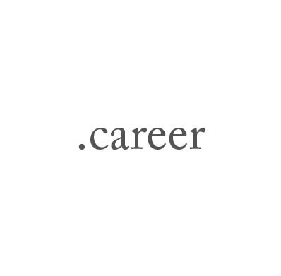 Top-Level-Domain .career