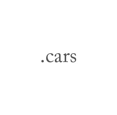 Top-Level-Domain .cars