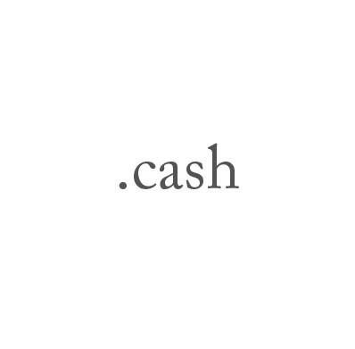 Top-Level-Domain .cash