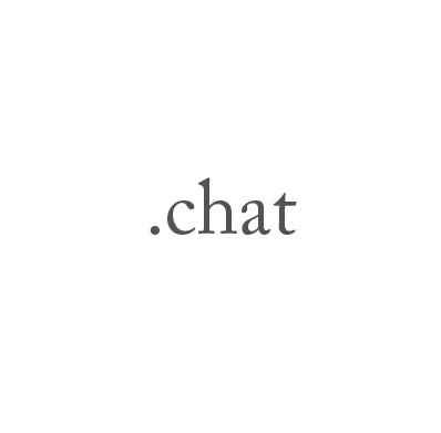 Top-Level-Domain .chat