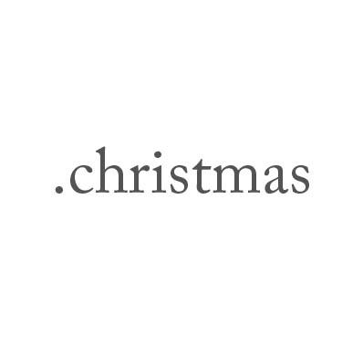 Top-Level-Domain .christmas