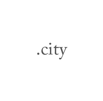 Top-Level-Domain .city