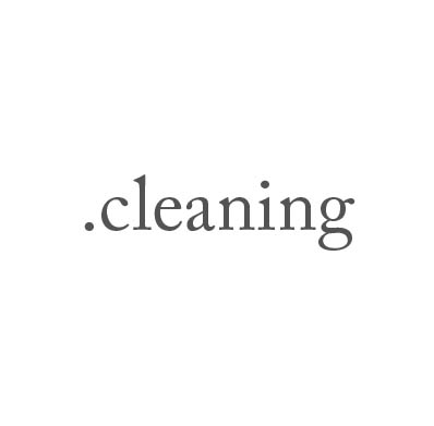 Top-Level-Domain .cleaning