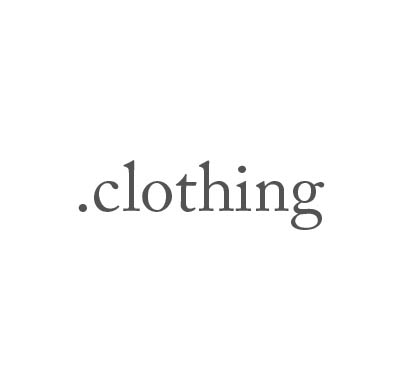 Top-Level-Domain .clothing