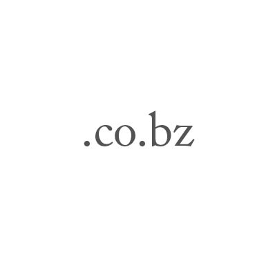Top-Level-Domain .co.bz