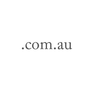 Top-Level-Domain .com.au