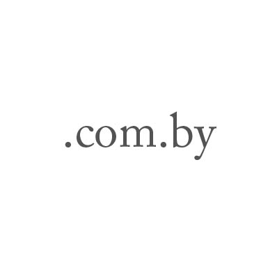 Top-Level-Domain .com.by