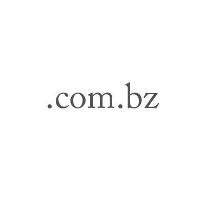 Top-Level-Domain .com.bz