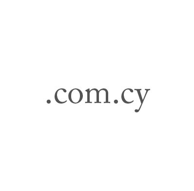 Top-Level-Domain .com.cy