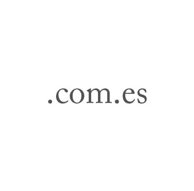 Top-Level-Domain .com.es
