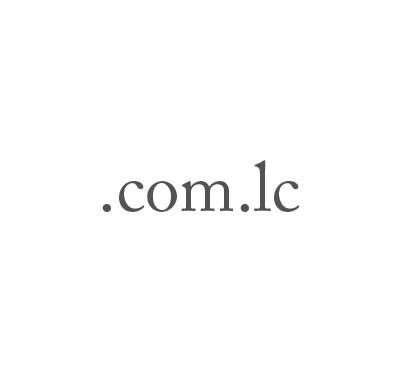 Top-Level-Domain .com.lc