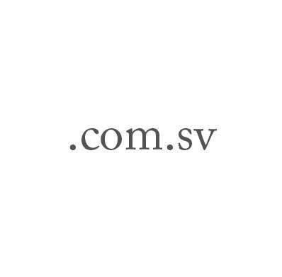 Top-Level-Domain .com.sv
