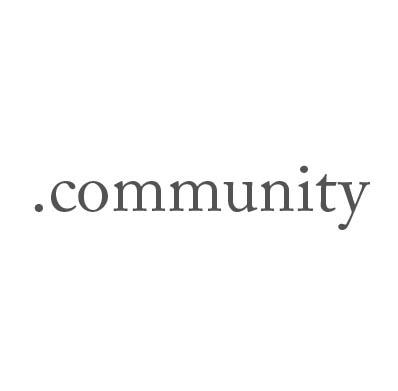 Top-Level-Domain .community