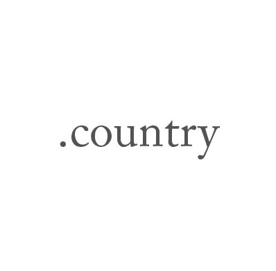 Top-Level-Domain .country