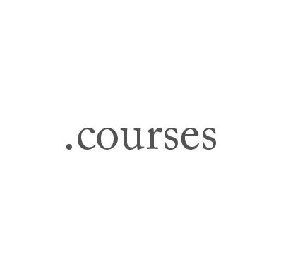 Top-Level-Domain .courses