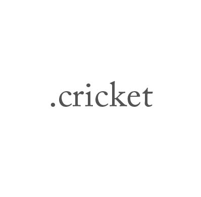 Top-Level-Domain .cricket
