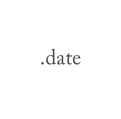 Top-Level-Domain .date