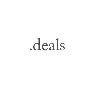 Top-Level-Domain .deals