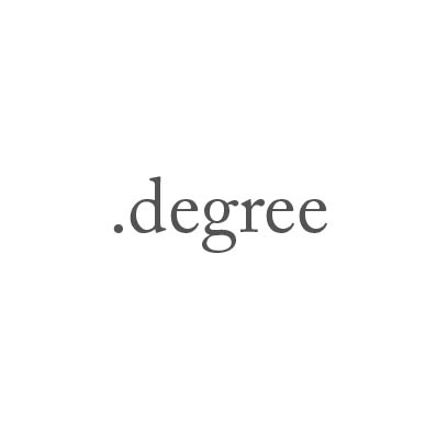 Top-Level-Domain .degree