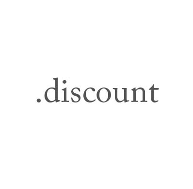 Top-Level-Domain .discount