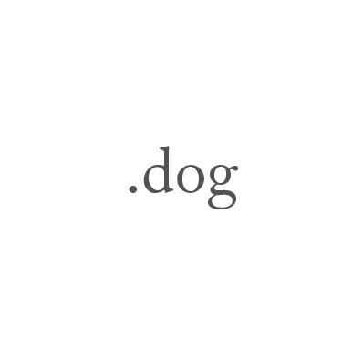 Top-Level-Domain .dog