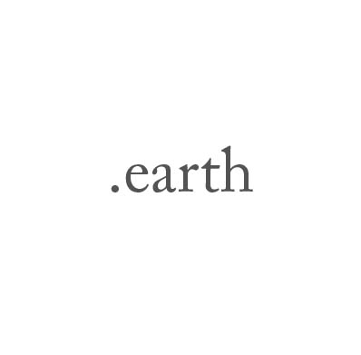 Top-Level-Domain .earth