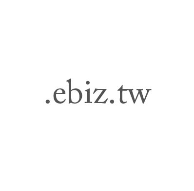 Top-Level-Domain .ebiz.tw