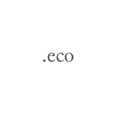 Top-Level-Domain .eco